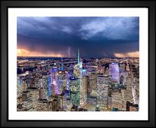 Manhattan Midtown Cityscape