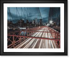 Brooklyn Bridge Traffic Lapse