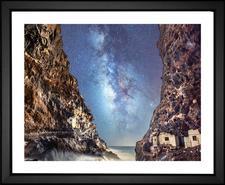 Cave Milky Way Stars