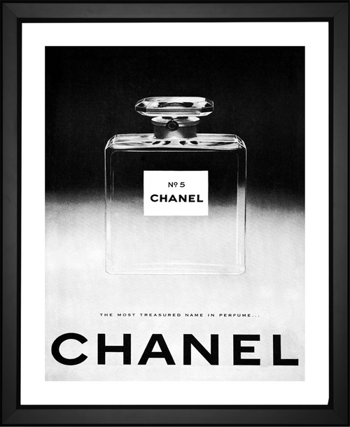 100th anniversary limited edition Chanel fine art print