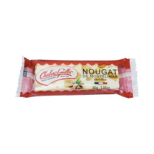 Chabert & Guillot White nougat, bar 30g/1.06 oz