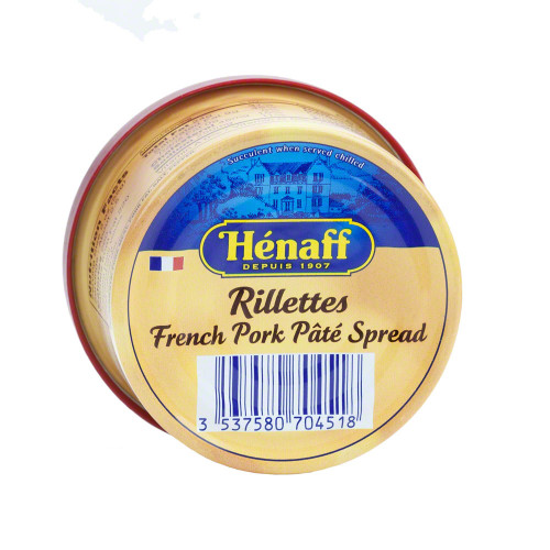 Henaff French Brittany Pork Rillettes 127g (4.5 oz)