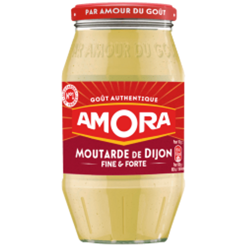 Amora French Strong Dijon Mustard 15.5oz