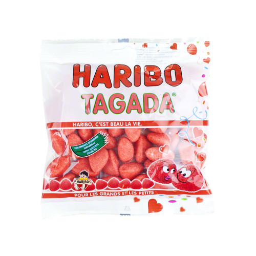 Haribo French Tagada Strawberry  Candy 120g (4.2oz)