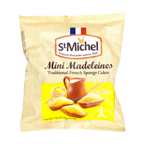 St Michel French Mini Madeleine 175g/6.17oz