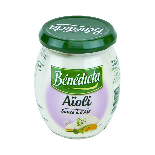 Benedicta French Aioli sauce 260g (9.2 oz)