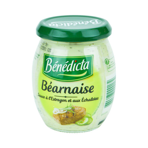 Benedicta French Bearnaise sauce 260g (9.2 oz)