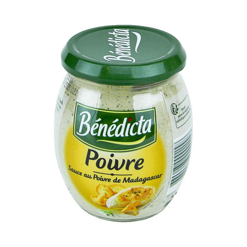 Benedicta French Peppercorn sauce 260g (9.2 oz)
