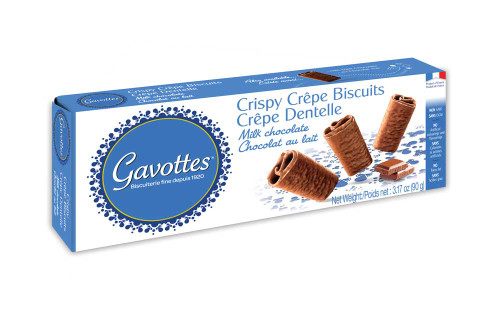 "Gavottes Crispy ""Brittany Crepes"" Milk Chocolate 3.17 oz (90g)"