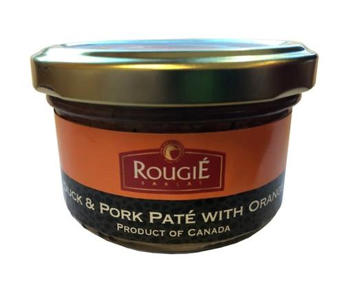 Rougie Duck and Pork Spread With Orange 80g / 2.80 oz