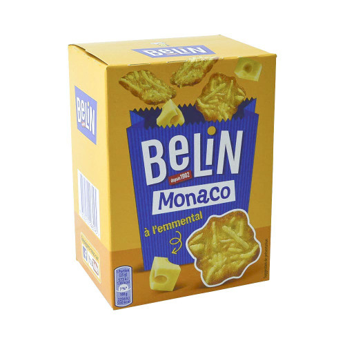 Belin Monaco French Cheese Crackers 3.7 oz