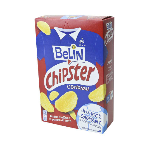 Belin Chipster  French Potato Chips 2.6 oz