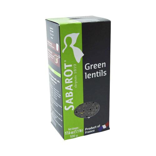 Sabarot French Green Lentils (1,1 lb) 500 g