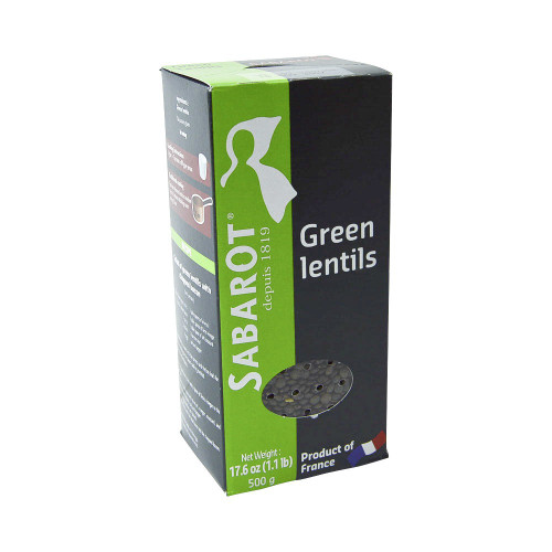 Sabarot French Green Lentils (1,1 lb) 500 g