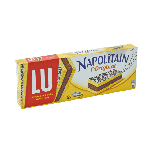 Lu Napolitain Classic Layer Cake 180g (6,4 oz)
