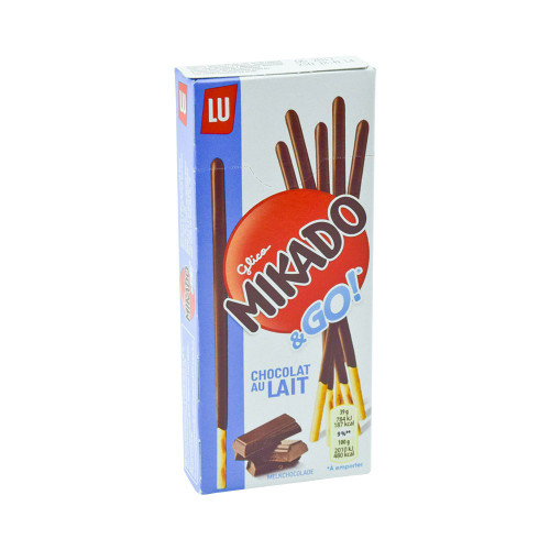 LU Mikado Milk Chocolate French Cookie Sticks 39 g (1,3 oz)