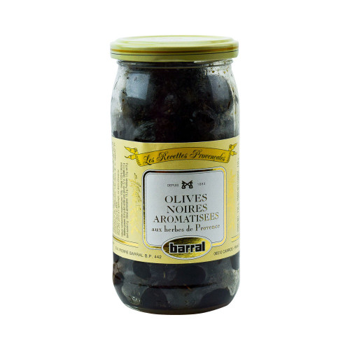 Barral Black Olives with Provence Herbs 8.1 oz