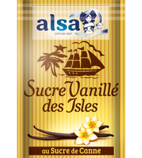 Alsa French baking vanilla sugar 7 pouches