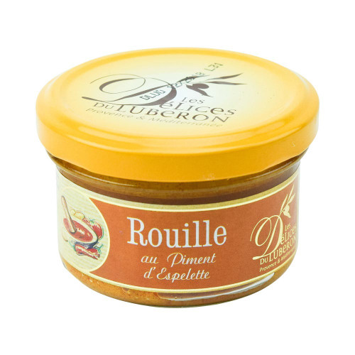 Delices du Luberon French Rouille w/ Espelette Chili Pepper 90g (3.2 oz)