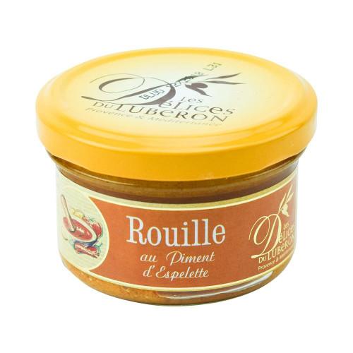 Delices du Luberon French Rouille w/ Espelette Chili Pepper 90g (3.2 oz)