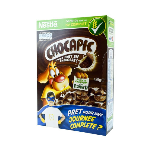Chocapic French Cereal Nestle 15.17 oz (430 g)