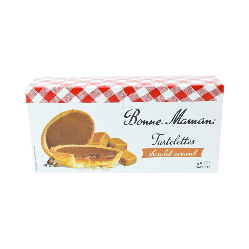 Bonne Maman Mini Chocolate Caramel Tart 4.7 oz (135 g)