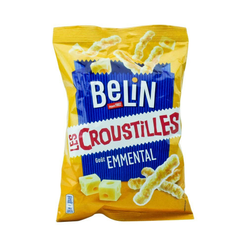Belin French Snack Croustilles Emmental 3.2 oz