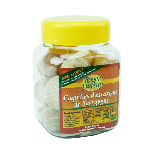 Dutruy French Snail Shells 1 1/2 Dozen