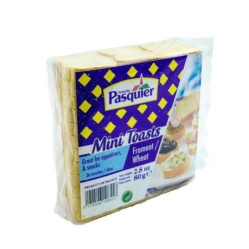 Pasquier Mini Toasts 80g/2.8 oz