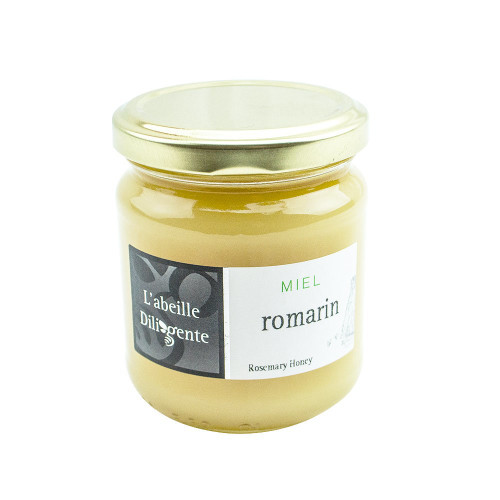 L'Abeille Diligente Rosemary Honey 8.8oz (250 g)