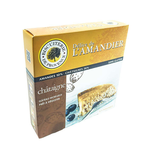 Biscuiterie de Provence French Almond-Chestnut Gluten Free cake 8.47 oz