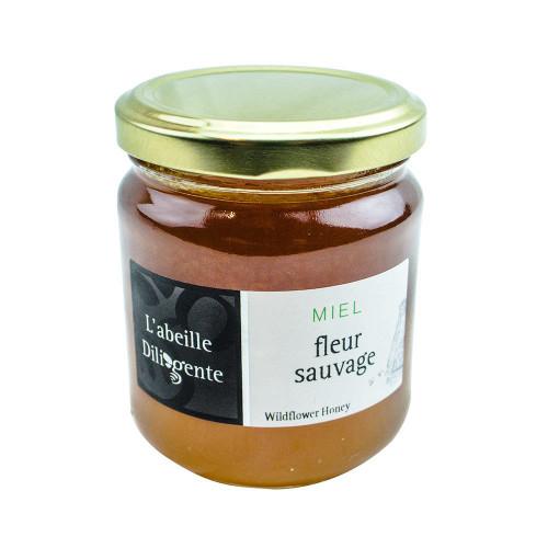 L'Abeille Diligente Wild flower Honey 8.8oz (250 g)