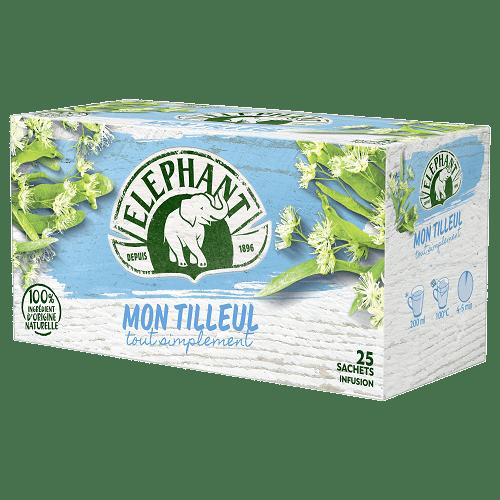 Elephant Infusion Tilleul 25 bags 32.5 g (1.14 oz)