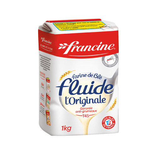 Francine French Lump Free Wheat Flour T45 2.2 Lb (1kg)