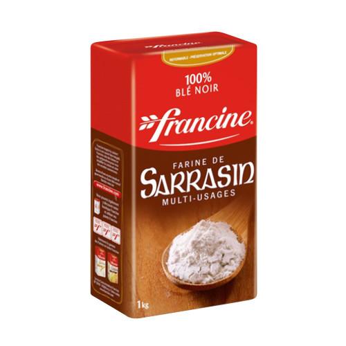 Francine French Buckwheat Flour 1kg/2.2lb