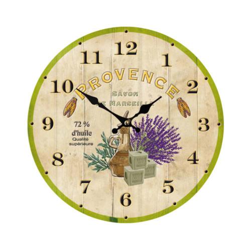 Clock Provence Savon de Marseille 11 inch