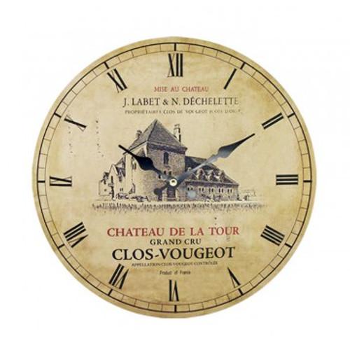 Clock Clos du Vougeot 11inch