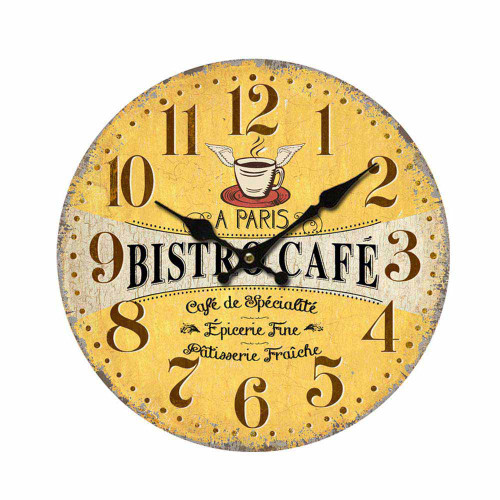Clock Bistro Paris 11 inch