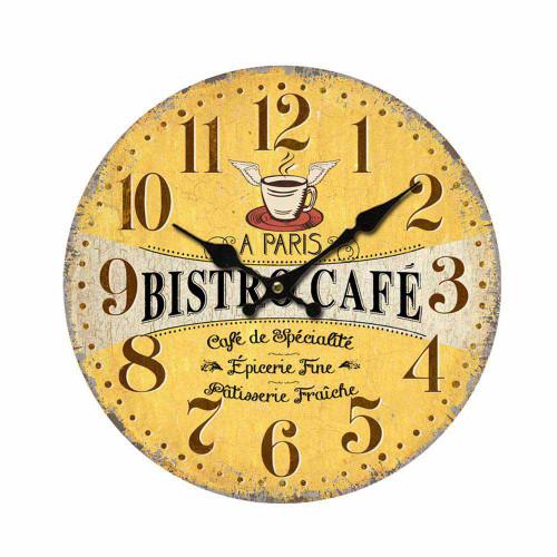 Clock Bistro Paris 11 inch