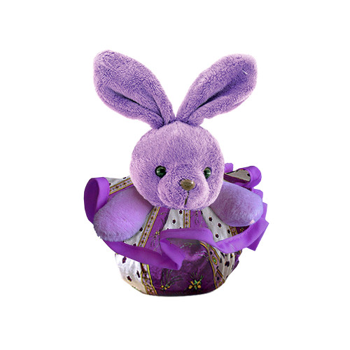 Lavender Rabbit Zip