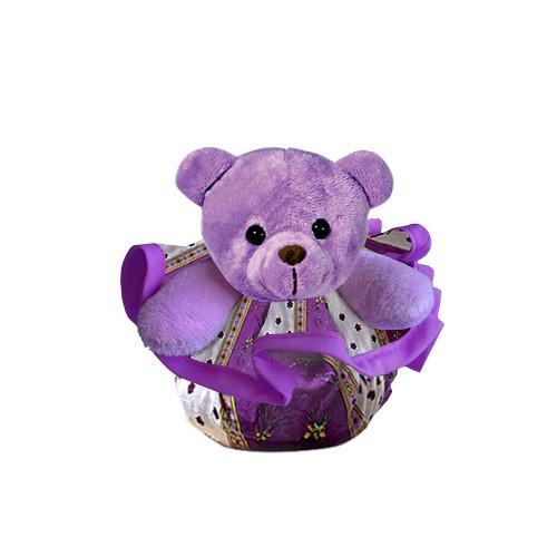 Lavender Bear Zip