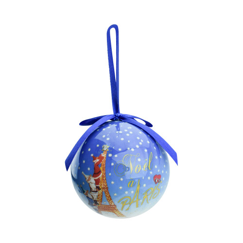 Bright Round Christmas Ball Ornament
