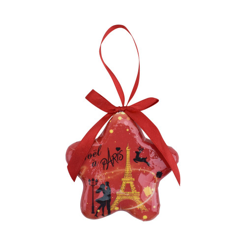 Christmas Tree Ornament Star Christmas in Paris