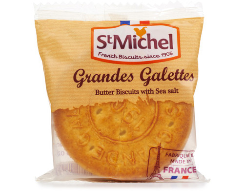St Michel Grandes Galettes Sea Salt x3  (1.76oz) 50g