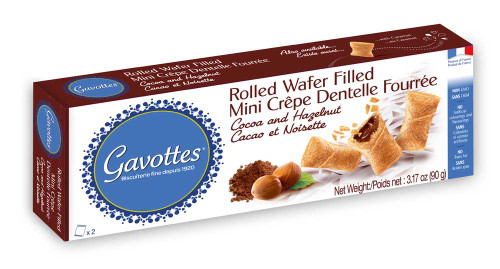 Gavottes Mini Crepes Filled with Cocoa and Hazelnut 3.17oz(90g)
