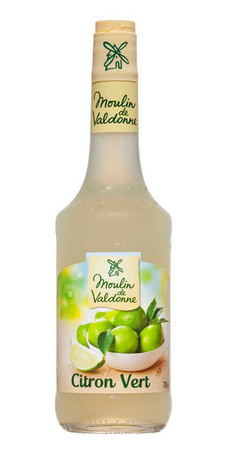 Moulin de Valdonne Lime Syrup 70cl 23,7 fl oz)