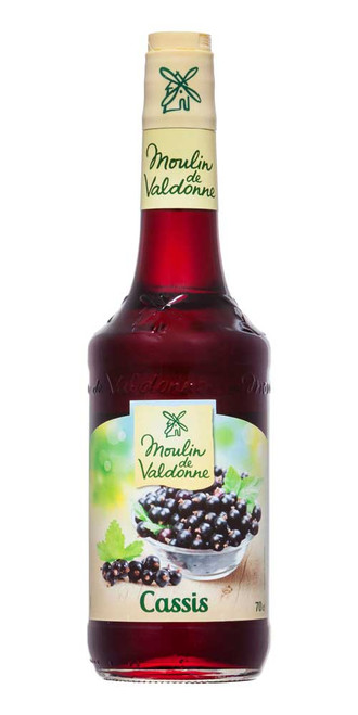 Moulin de Valdonne Blackcurrant Syrup 70cl (23,7 fl oz)