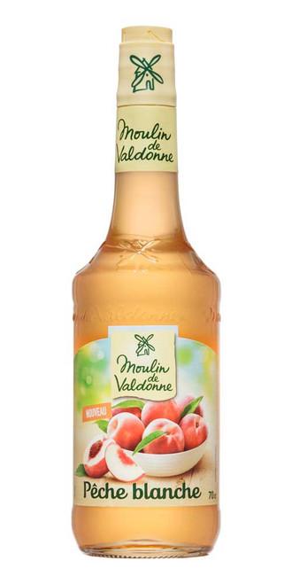 Moulin de Valdonne White Peach Syrup 70cl (23.7 fl oz)