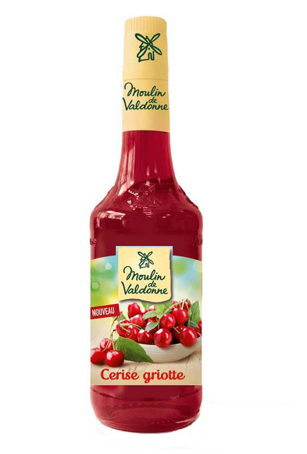 Moulin de Valdonne Morello Cherry Syrup 70cl (23,7 fl oz)