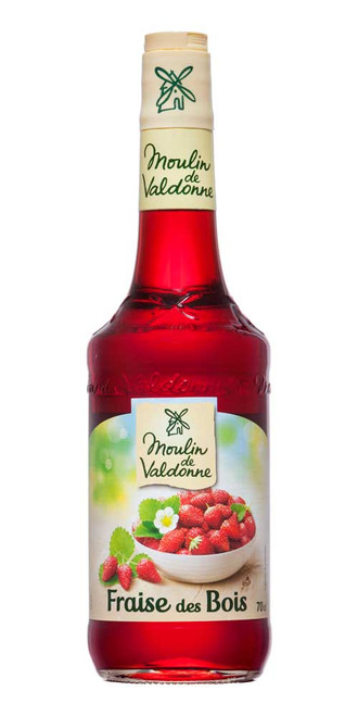 Moulin de Valdonne Wild Strawberry Syrup 70cl (23.7 fl oz)